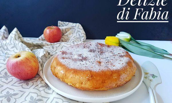 Torta alle mele in padella – senza latte