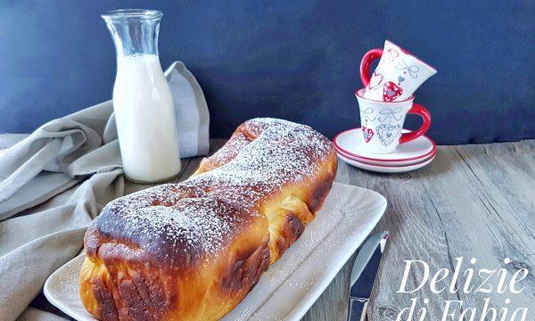 Pan brioche con ricotta e cioccolato