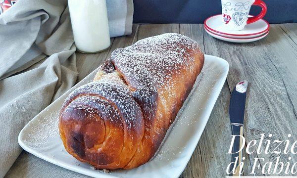 Pan brioche ripieno di nutella – senza burro