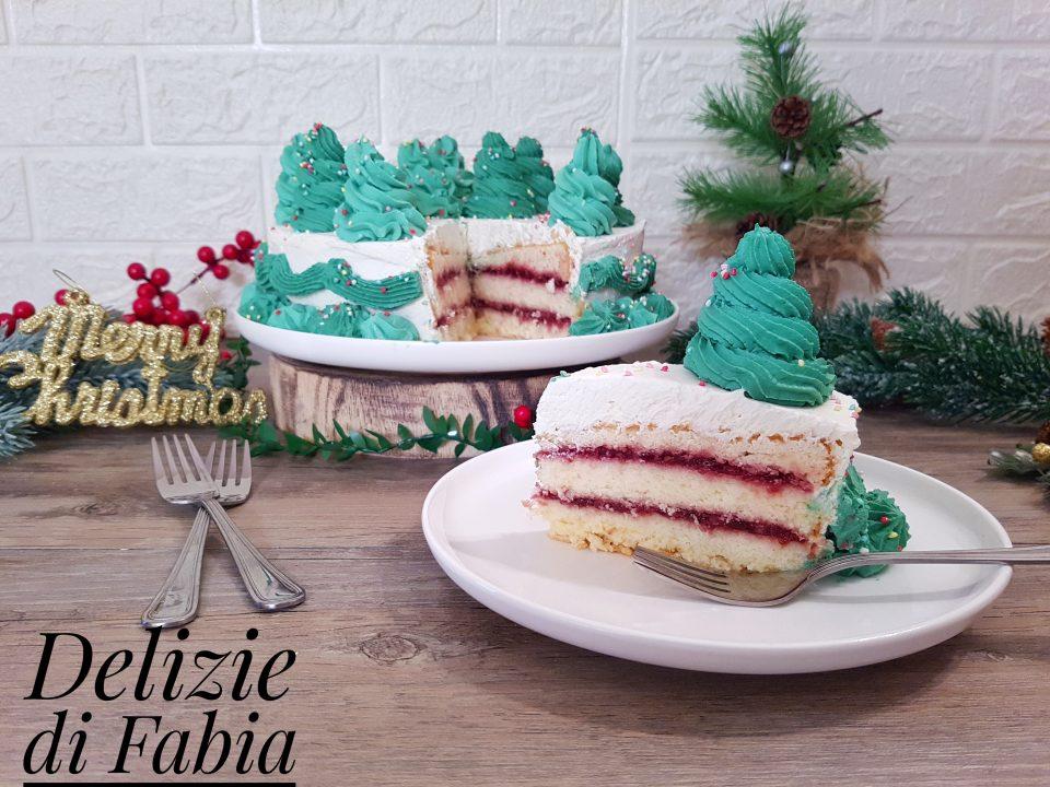 torta di Natale decorata