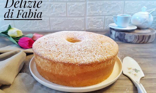 Angel cake al profumo di limone – ricetta facile