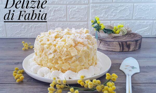 Torta mimosa all'ananas – versione senza glutine