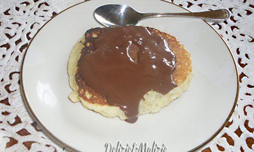 Pancake al cocco