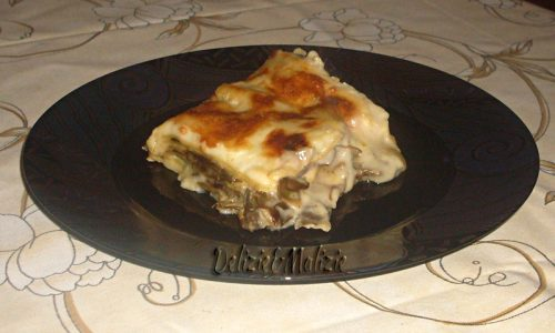 Lasagne carciofi e brie