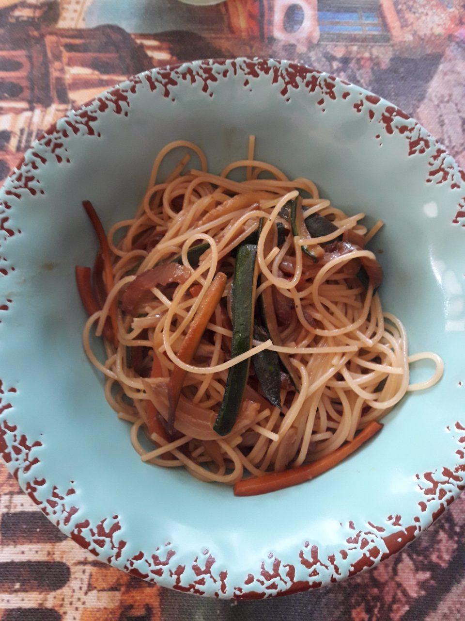 Spaghettini all'orientale
