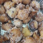Tortelli dolci con mele e cioccolato