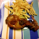 Cosce di pollo ubriache