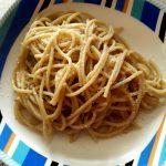 Spaghetti burro e acciughe