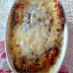 Crostone con acciughe e mozzarella