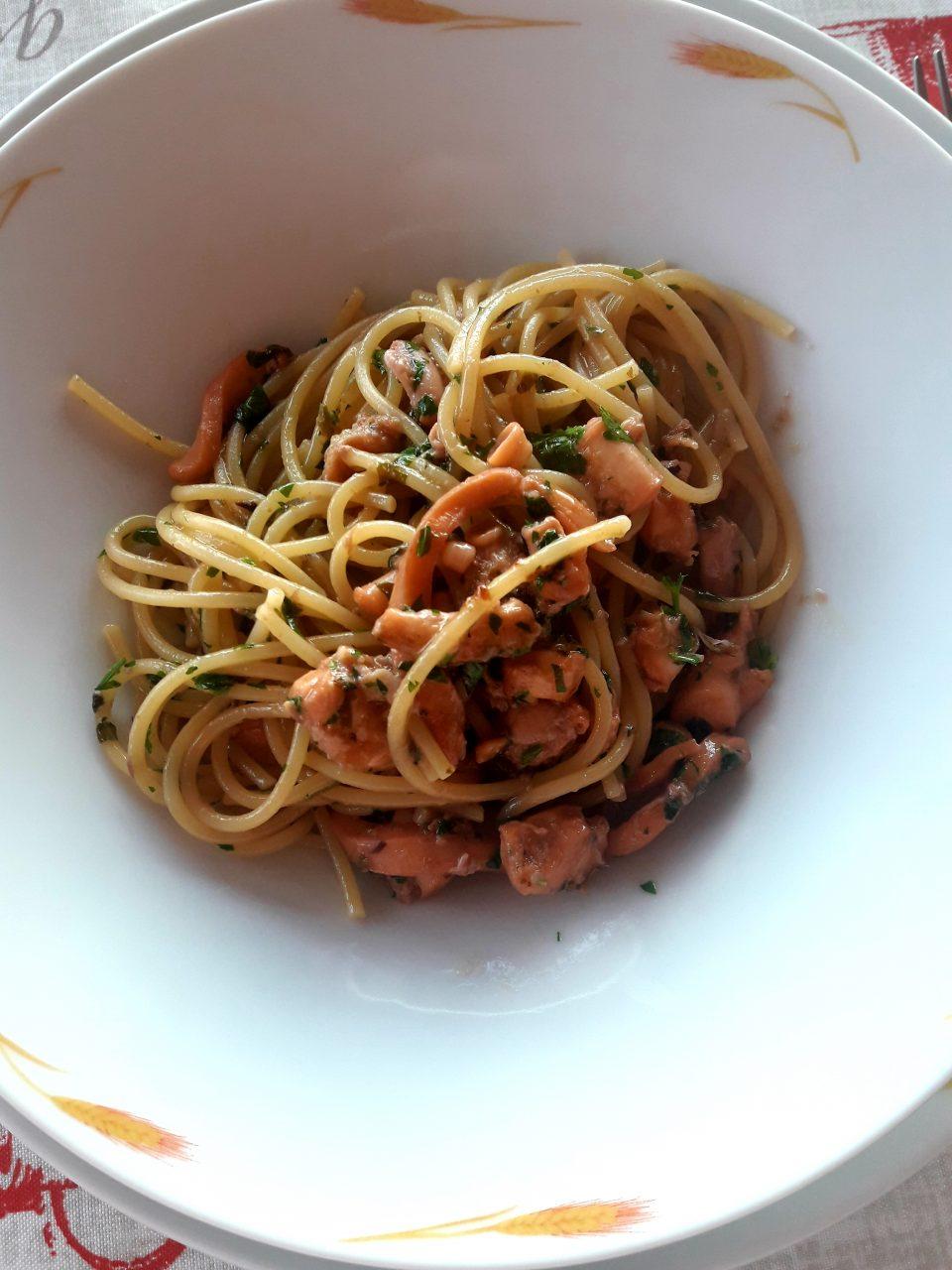 Spaghetti ai moscardini