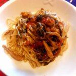 Noodles di riso con carne e verdure