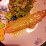 Trota salmonata alla senape