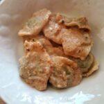 Ravioli di magro con salsa di noci