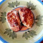 Zucchine ripiene di tonno e ricotta