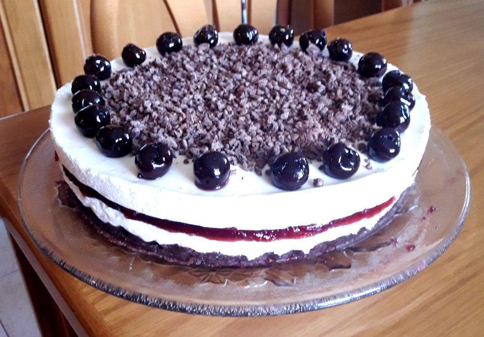 Foresta nera cheesecake