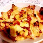 Nachos piccanti al forno