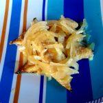 Filetti di sgombro alle cipolle