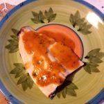 Trota salmonata al vapore con salsa al pomodoro