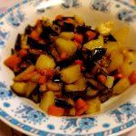 Melanzane e patate in padella