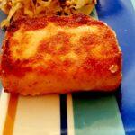 Feta fritta con doppia panatura