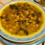 Zuppa di ceci alla curcuma