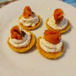 Cheesecake veloci al salmone