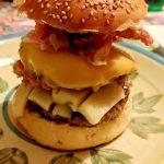 Maxi burger di mio marito