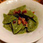 Ravioli verdi alle lenticchie