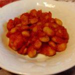 Fagioli di Spagna in salsa piccante