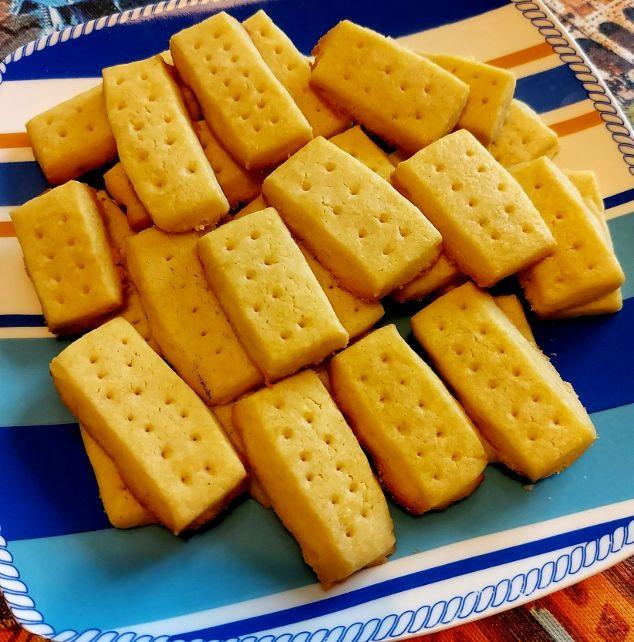 Biscotti al burro salato