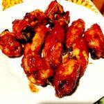 Alette di pollo glassate