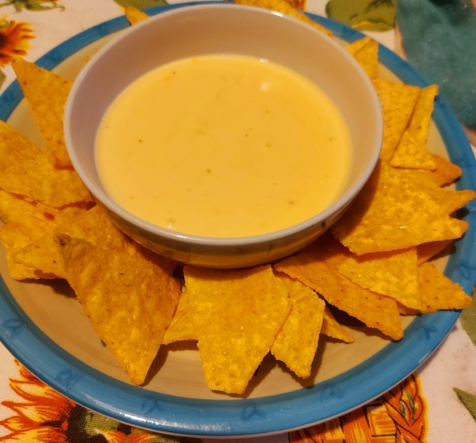 Ricetta Salsa Nachos Al Formaggio.Salsa Al Formaggio Per Nachos Delizie In Pentola