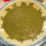 Crema di zucchine e piselli