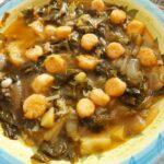Zuppa di bietole e lattuga