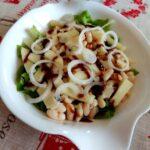 Fagioli in insalata con pecorino
