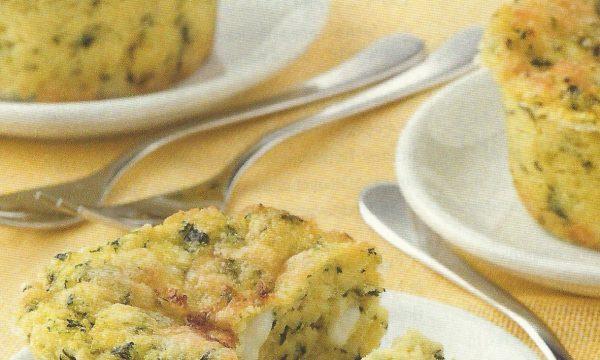 Sformatini spinaci e gorgonzola