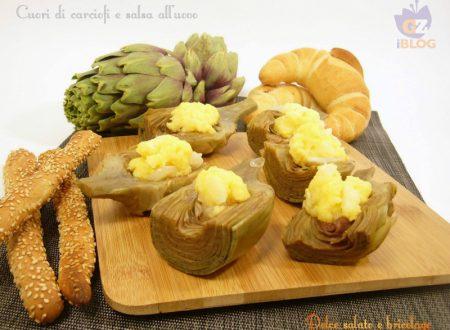 Cuori di carciofi e salsa all'uovo, contorno