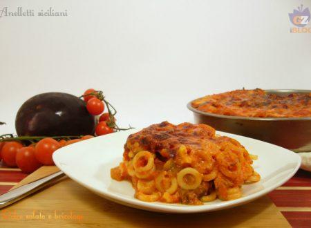 Anelletti siciliani (a modo mio), primo piatto