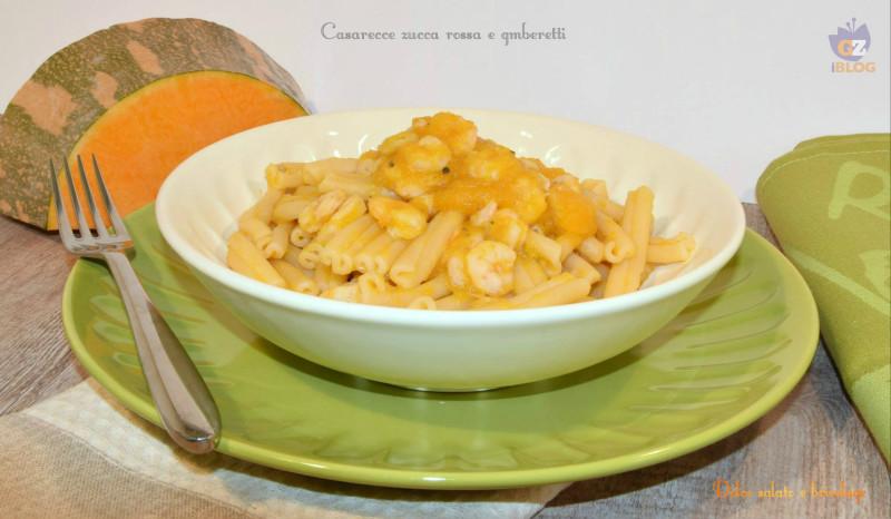 casarecce zucca gamberetti