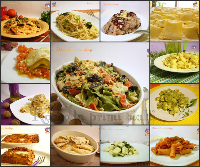 seconda raccolta primi piatti