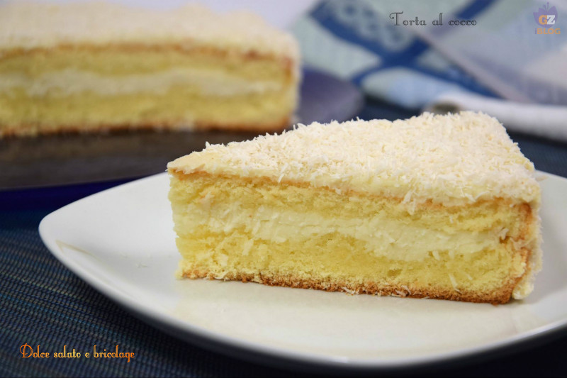 Torta al cocco, dolci e dessert | Dolce salato e bricolage