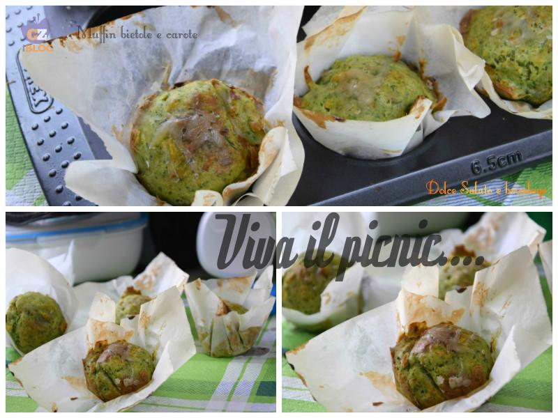 muffin bietole e carote