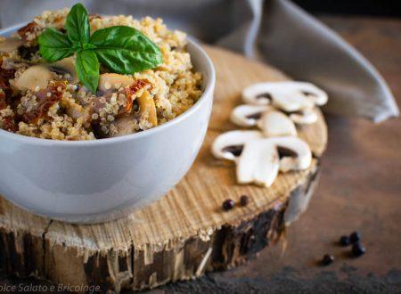 Quinoa e Funghi Champignons