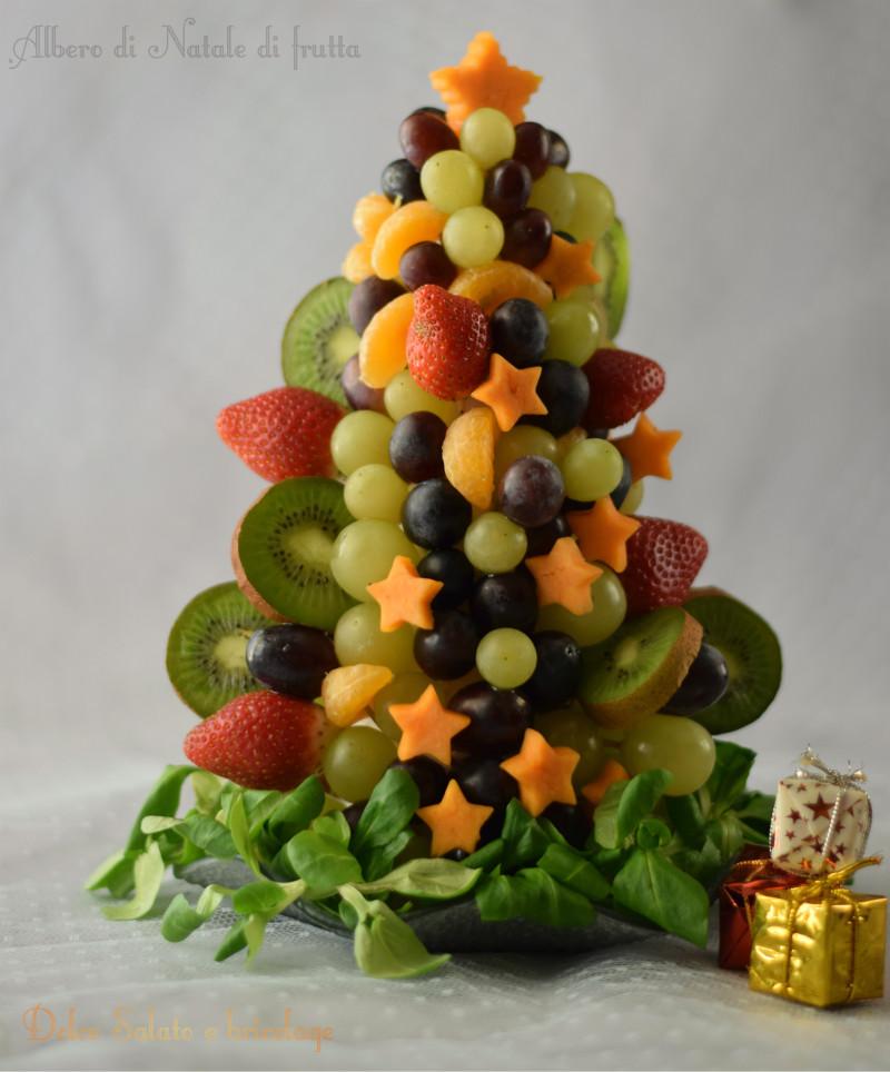 abbastanza Albero di Natale di frutta UC88