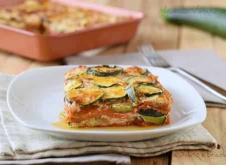 Versione vegetariana del Moussaka – ricetta della cucina Greca