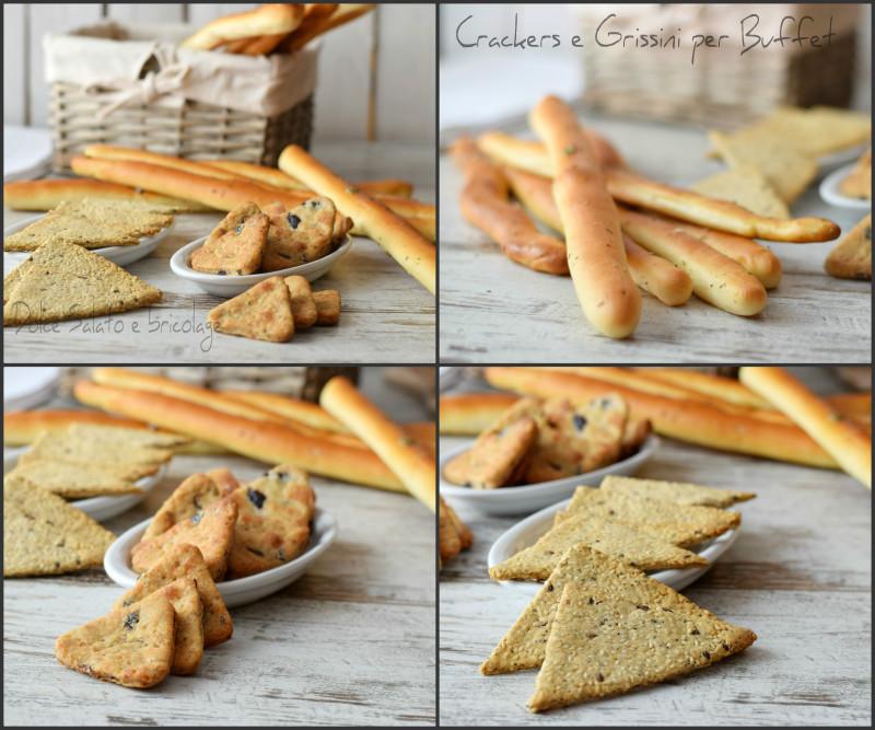 crackers e grissini per buffet