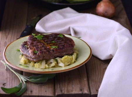 Angus con verza e zucchine – secondo piatto succoso