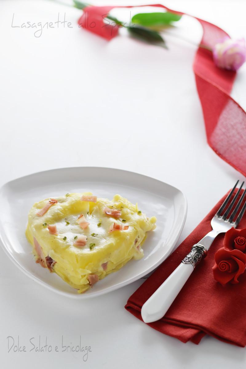 lasagnette allo speck