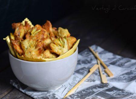 Ventagli di carciofi fritti, antipasto stuzzicante o contorno goloso