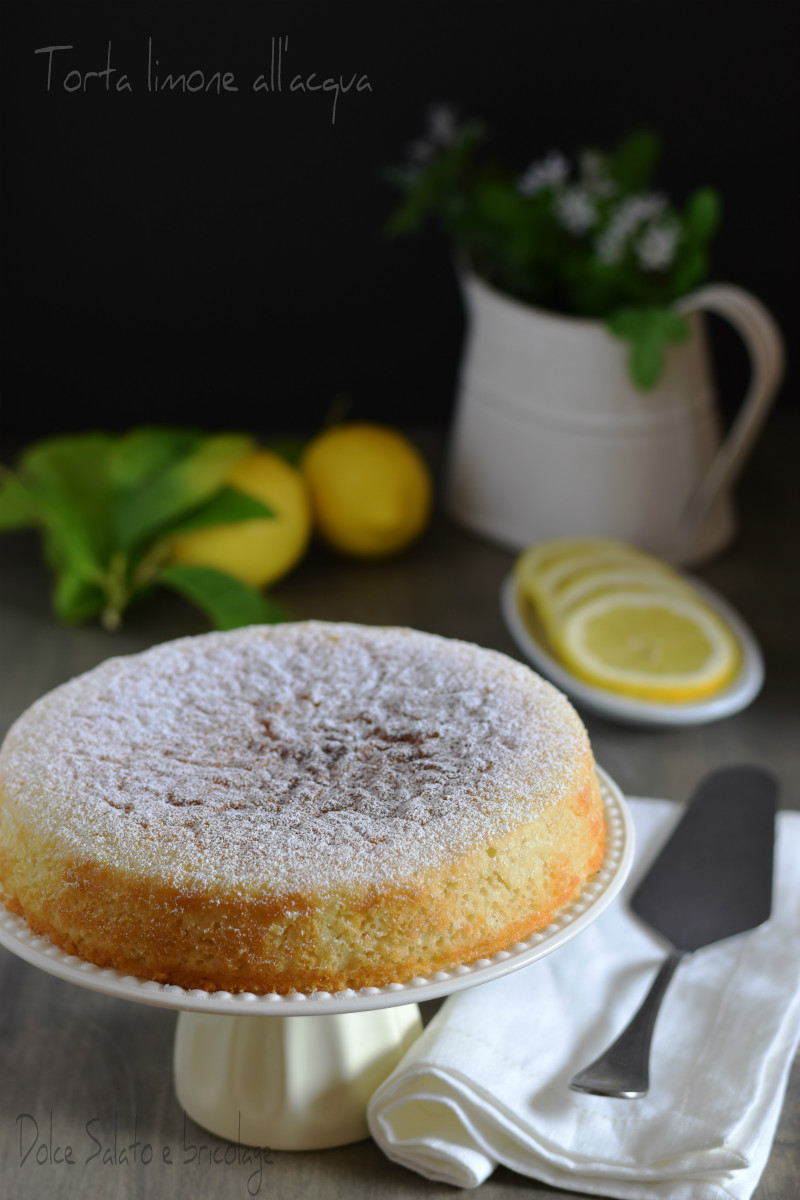 torta limone all'acqua